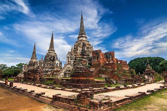 Templos antiguos de Ayutthaya...