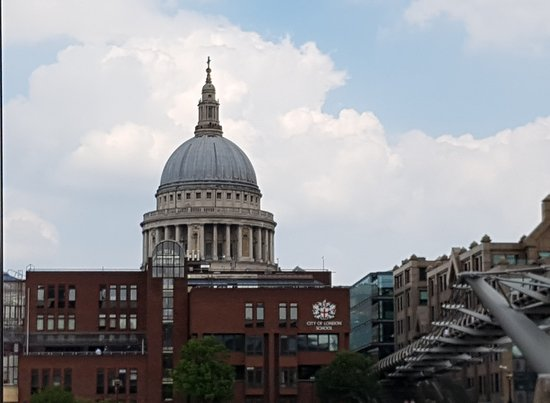 St Paul's Cathedral from the Thames