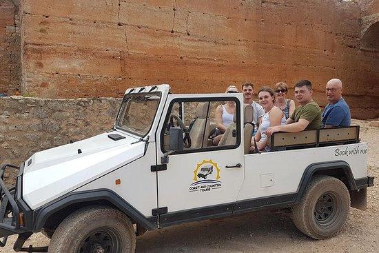 Halvdagstur i Sierra Algarve med Jeep...