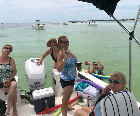Marathon, FL: We love the Sand Bar