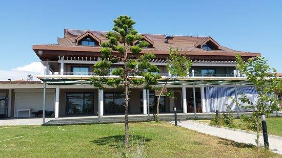 Side, Türkiye: Otel giriş Bahçesi