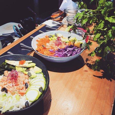 Bisca Surf Café: Poke bowl 
