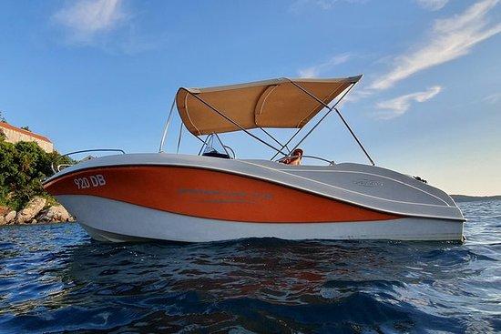 與Barracuda 545一起旅行8小時 -  elafiti群島