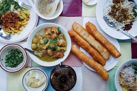 Gastronomisk tur i Yangon Street