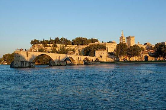 合并的教皇宫殿 - 阿维尼翁桥