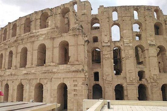 Tour Kairouan, Coliseo de El Djem y...