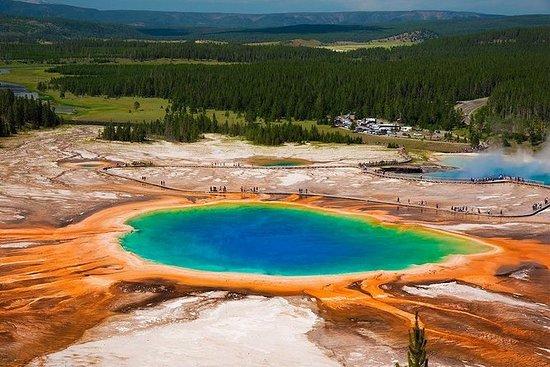 4-dagers Yellowstone nasjonalpark...
