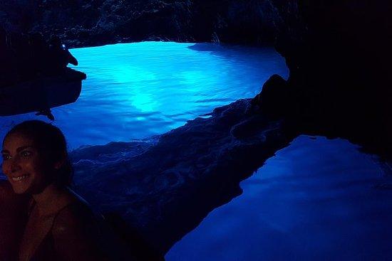 参观Blue Cave和五个岛屿:Blue...
