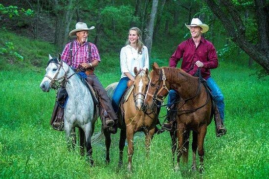 Ridning på Scenic Texas Ranch
