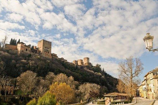 Alhambra: Carlos V Palast, Mauern und...