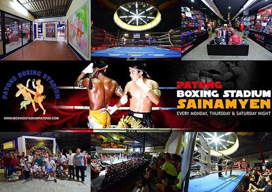 PATONG BOXING STADIUM VIP.SEAT AVEC...