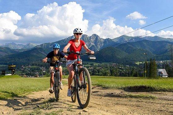 1h de location de vélo à Zakopane...
