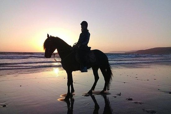 2 timer Sunset Horse ride