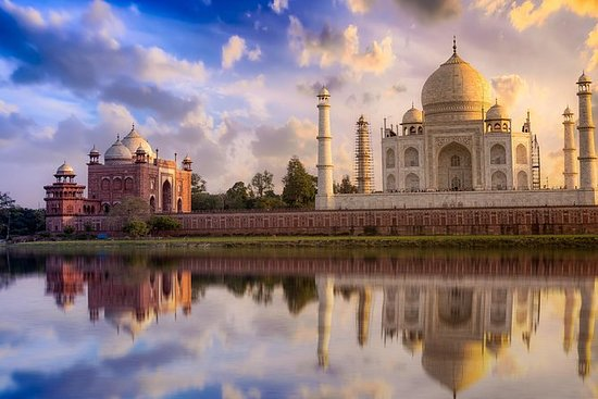 Soluppgång Taj Mahal Tour från Delhi