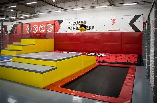 Park Trampolin JumpWorld Lodz