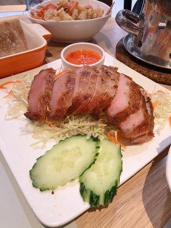 香茅烤豬頸肉