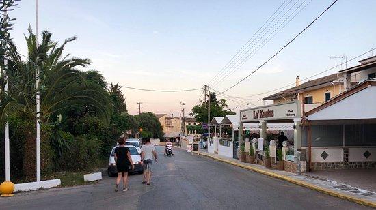 La Sosteria Italian Restaurant & Pizzeria in Gouvia Corfu Streetview