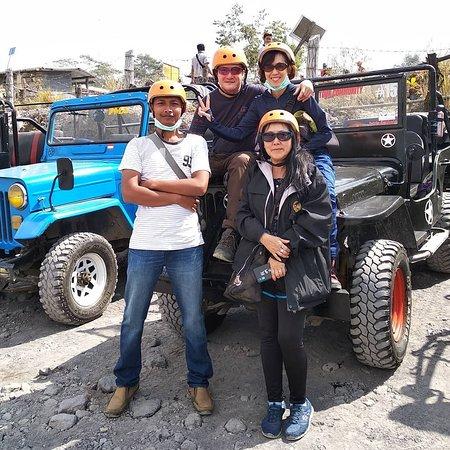 Yogyakarta, Indonesia: Lava Tour Merapi with Mr. Victor and Fam.