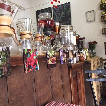 Sybarita Caffe: Un café rico y bien preparado, el mejor de de Villa de Leyva :)