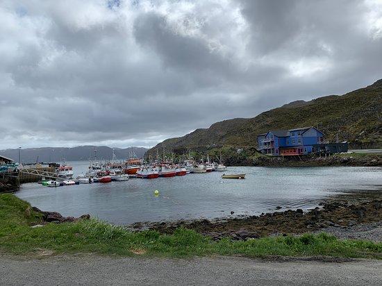 A small fishing village, Kamoyvoer.