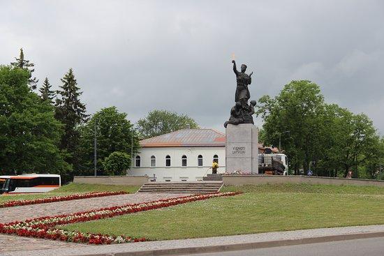 "Monument ""United for Latvia"": Памятник ""Едины для Латвии"""