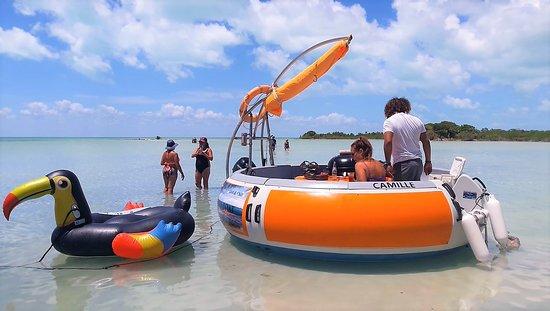 Belize BBQ Boat
