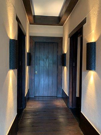 Eingangsbereich des Zimmers