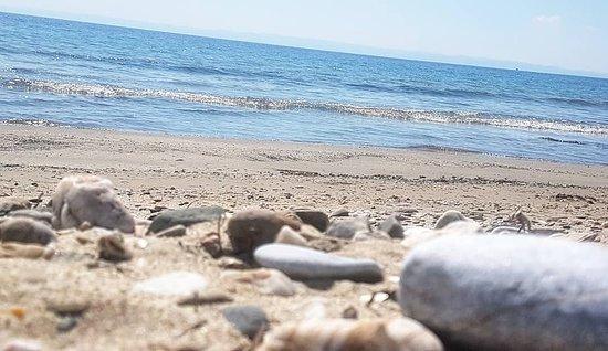 Paralia Vatopediou, Hellas: The beach
