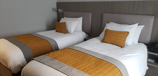 Comfortable and modern hotel, great location.. Wish I stayed longer to enjoy all the amenities.
