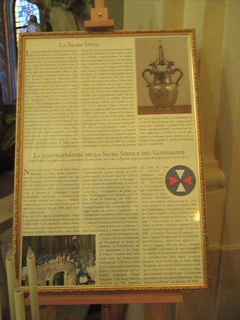 notizie sulla reliquia della sacra spina