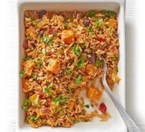 Fried rice with vegetable