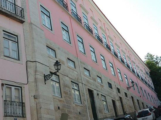 Fachada do Palacio Marques de Tancos