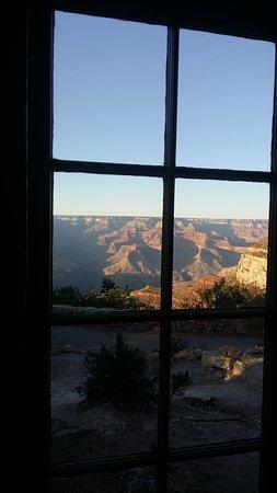 Chambre au bord du canyon