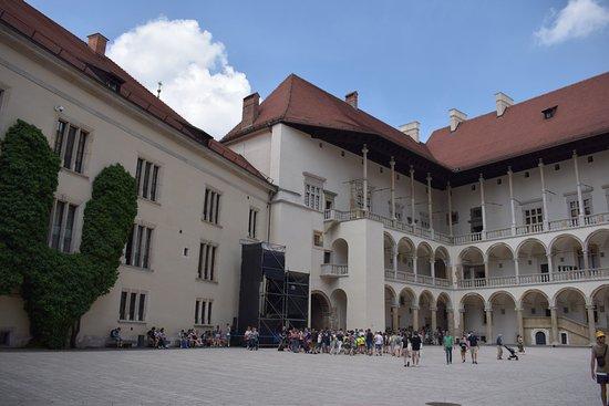 Wawel Royal Castle: le chateau de wawel