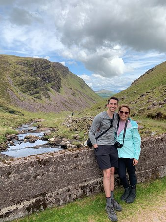 7-Day Small-Group Tour of Ireland from Dublin with the Cliffs of Moher, Dingle Bay and the Burren: One of our FAVORITE hikes of the tour!