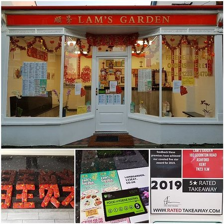 Lam's Garden Chinese Takeaway: 15% discount all of July 2019 (not including set or lunch menu)To celebrate the 50th anniversary of Lams Garden(June 1969)1st Chinese @Kent