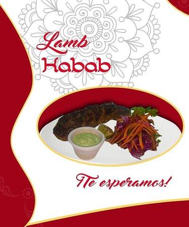Nuestro nuevo plato Lamb Kebab