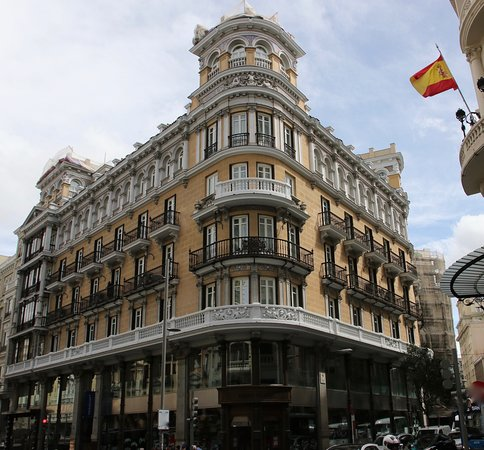 the Iberostar Las Tetras Gran Via  in Madrid...