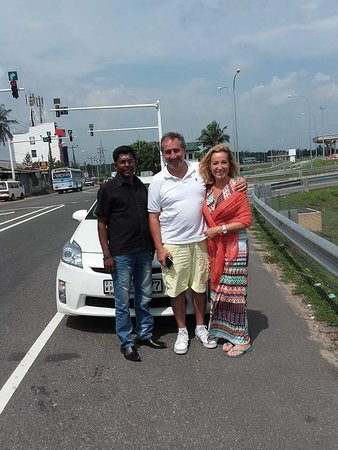 With Nishaku Lanka holidays From france !!