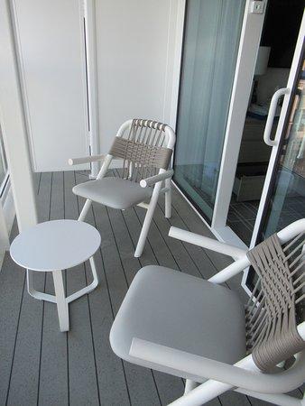Celebrity Edge: Sky suite patio
