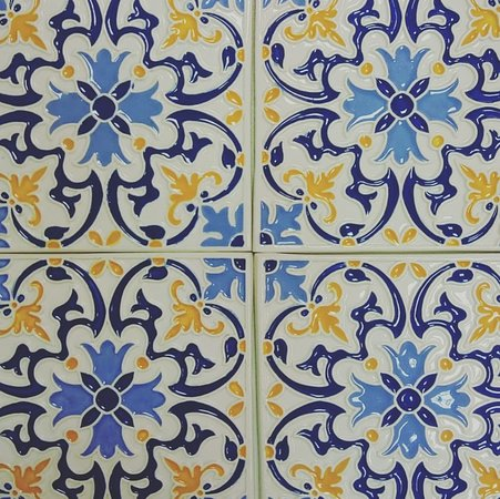 Cascais, Portugal: Aresta Viva - hand made tile