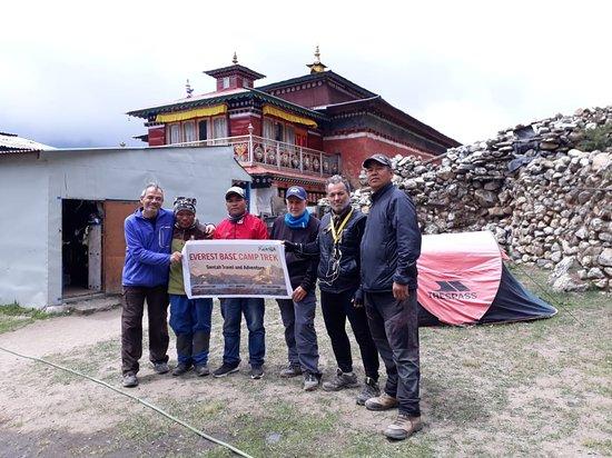 Swotah Travel and Adventure: Swotah Travel in Tenboche Monastery