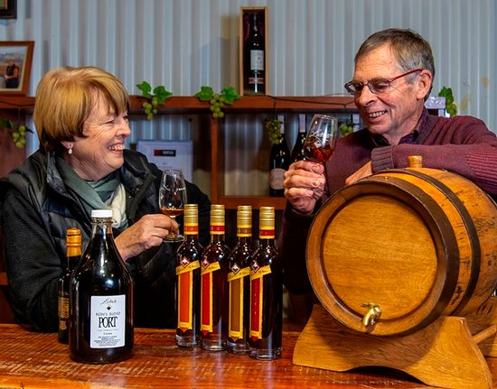 Janet and Ron Liebich - passionate about wine and proud of their Barossa family winemaking heritage