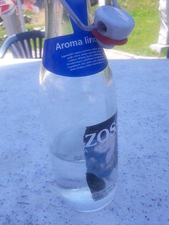 Ristorante All'Acqua: Gazzosa Limone ohne Ablaufdatum ! Etikett wurde entfernt !