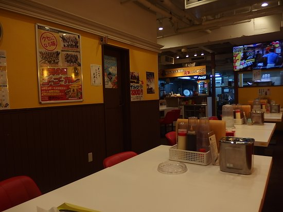 Go Go Curry Sendai Ichibancho Stadium: 店内