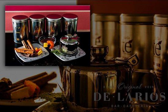 DeLarios: Te, chocolates y café