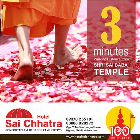 Just 3-minute walk from Saibaba Temple  #neartemple #shirdisaibaba #saibaba #familystay