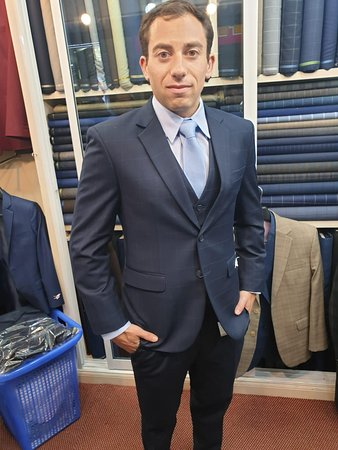 Happy Customer From Master cut bespoke tailor