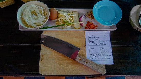 Lanna Smile Thai Cooking: Pad Thai Ingredients