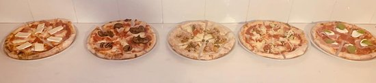 Arnesano, Italy: Pizze gourmet